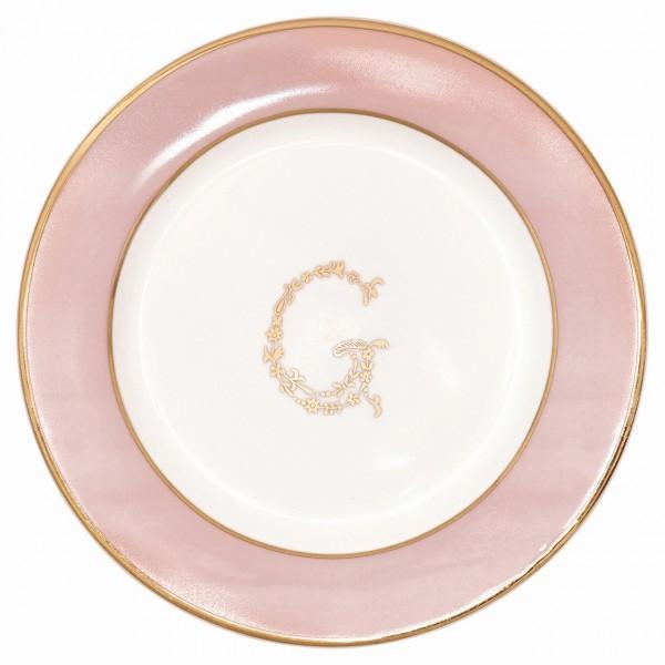 Kleiner Teller G Pale Pink