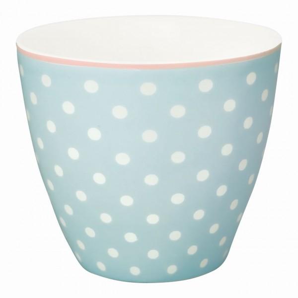 Latte Becher Spot pale blue