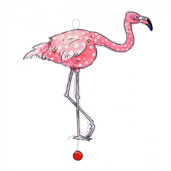 Bastelbogen Hampel Flamingo