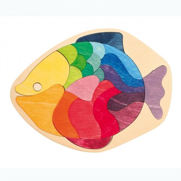 Mini Legespiel Fisch