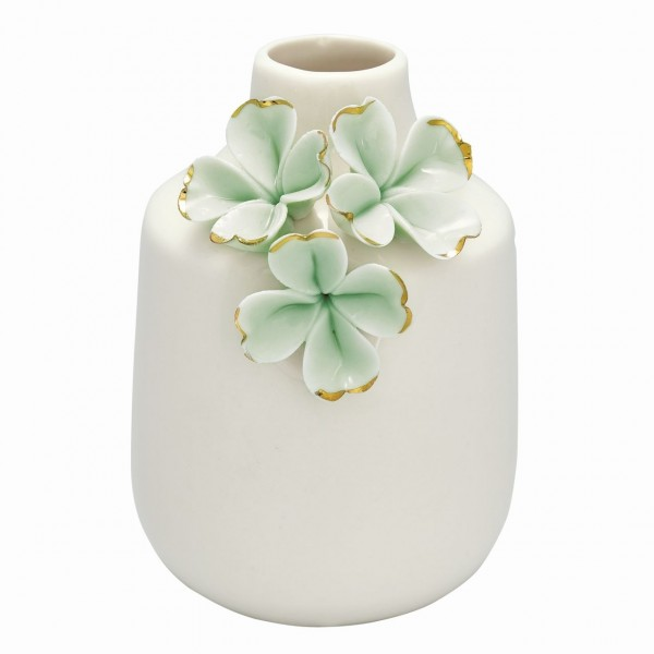 Vase flower pale green
