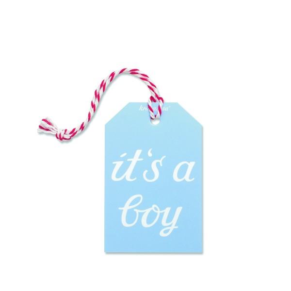Geschenkanhänger Boy