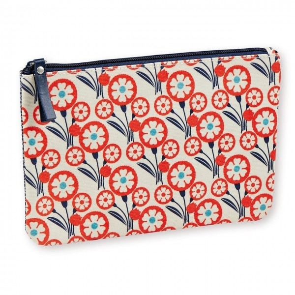 Makeup-Etui Orange Flowers