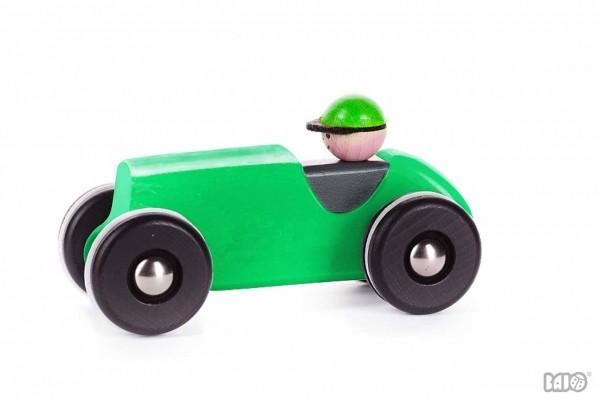 Holz Retro Auto Grün