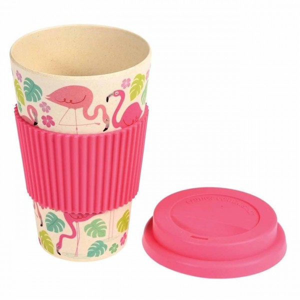Coffee-to-go Becher Eco Flamingo