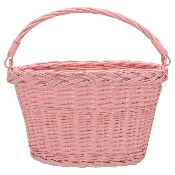 Fahrradkorb rosa