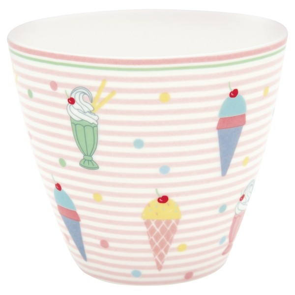 Latte cup Becher Isa pale pink