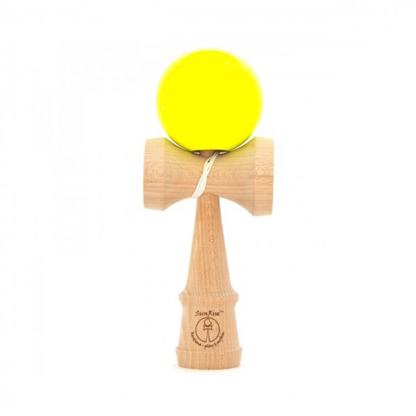 Kendama Competition Neon Gelb