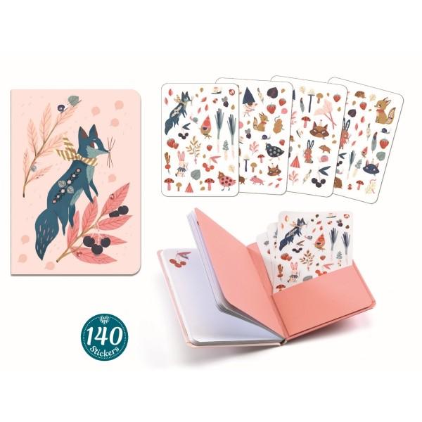 Notizbuch mit Stickern: Lucille