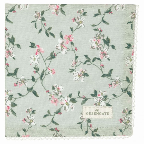 Serviette Jolie mint