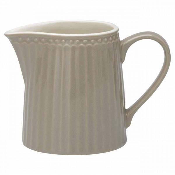 Milchkännchen Creamer Alice warm grey