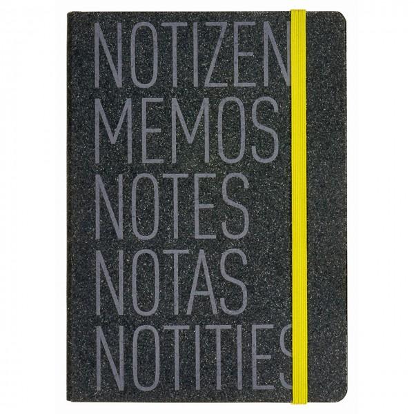 Home office Notizbuch grey Notizen