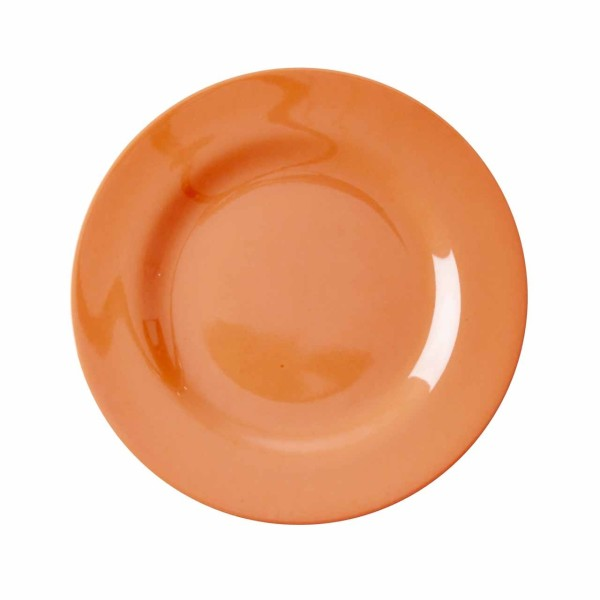 Melamin Teller - Neon Orange klein