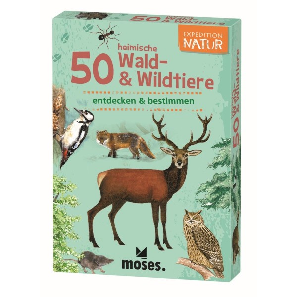 Expedition Natur 50 Wald & Wildtiere