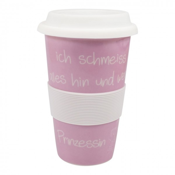 Coffee to go Becher Queen of...