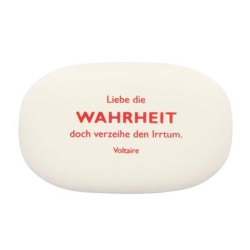 """Radiergummi Voltaire """"Wahrheit"""""""
