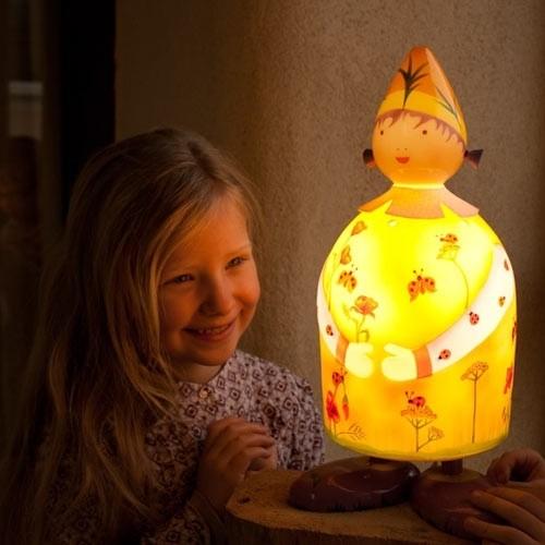 Oiseau Bateau Figurenlampe Marienkäfer