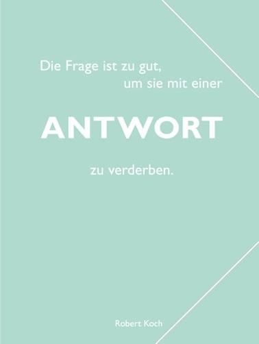 "CEDON Sammelmappe, pastell mint, Koch ""Antwort"""