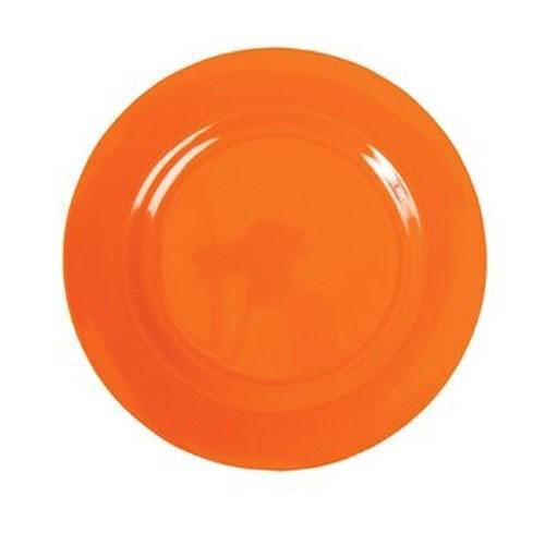 Melamin Teller - Orange klein