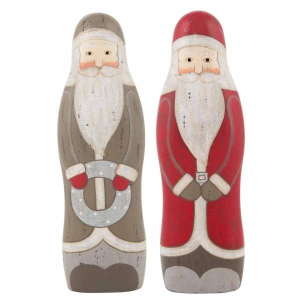 Weihnachtsmann stehend rot L