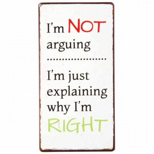 Magnet I´m not arguing