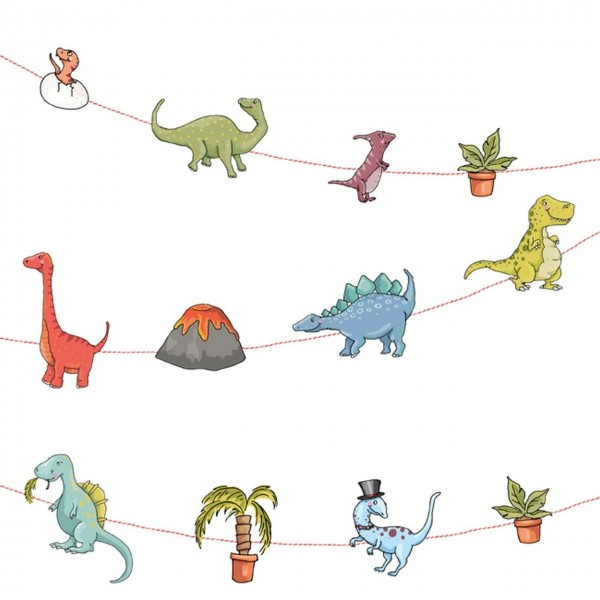 Girlande Dinos