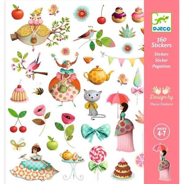 Sticker: Prinzessin Teestunde