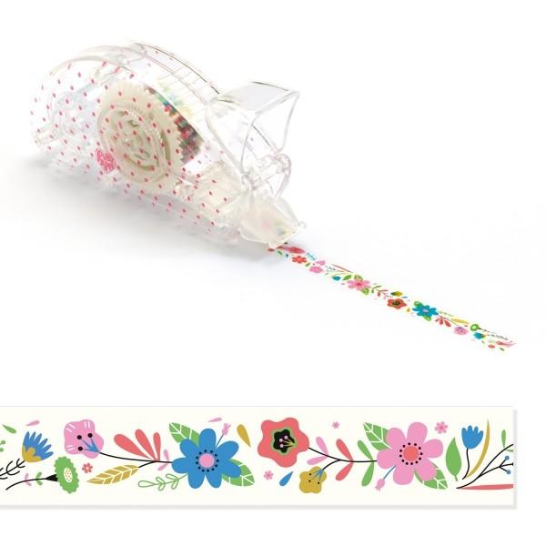 Deko-Klebeband: Blumen