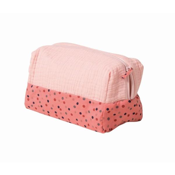 Kulturtasche Necessaire rosa