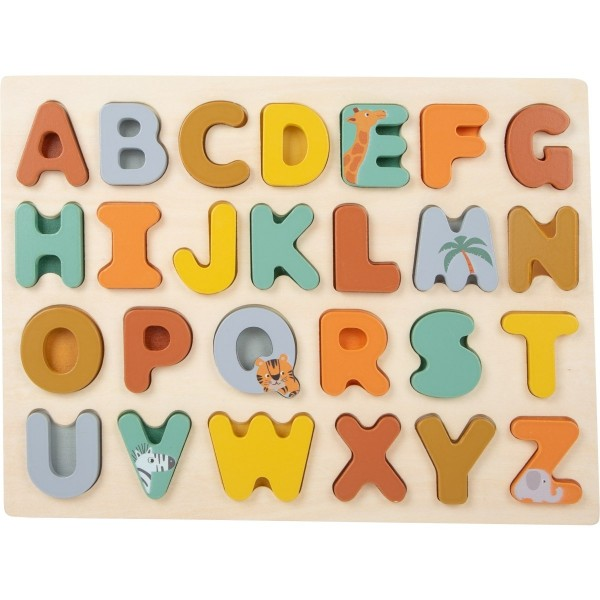 """Steckpuzzle Buchstaben """"Safari"""""""