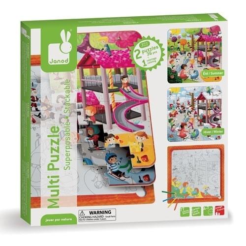 Multi-Puzzle Park, 36 Teile