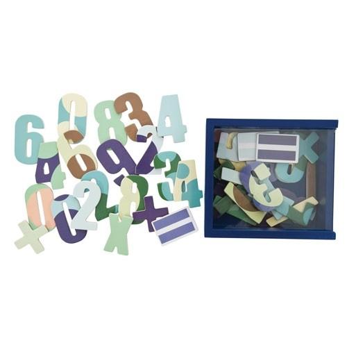 SEBRA Sebra Magnete Zahlen blau