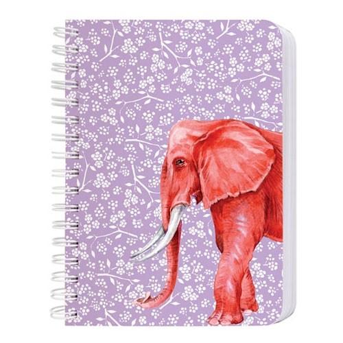 Notizblock A 6 Elefant