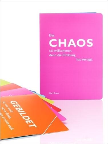 "CEDON Sammelmappe, pink, Kraus ""Chaos"""