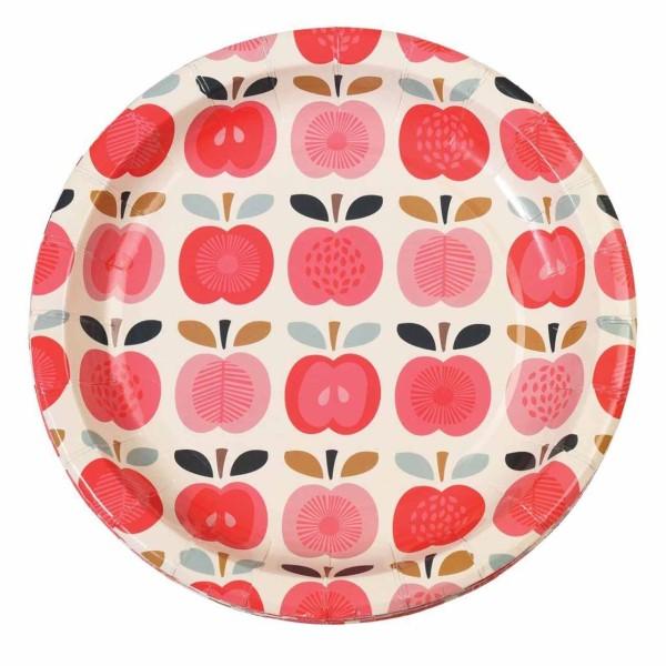 Vintage Apple Pappe Partyteller