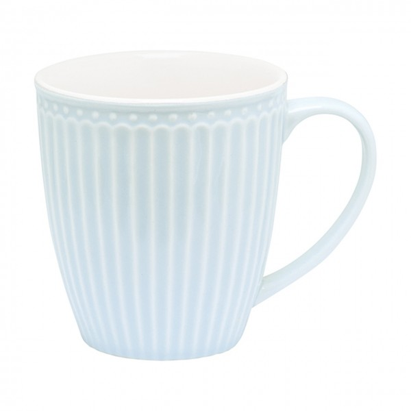 Henkeltasse Alice pale blue