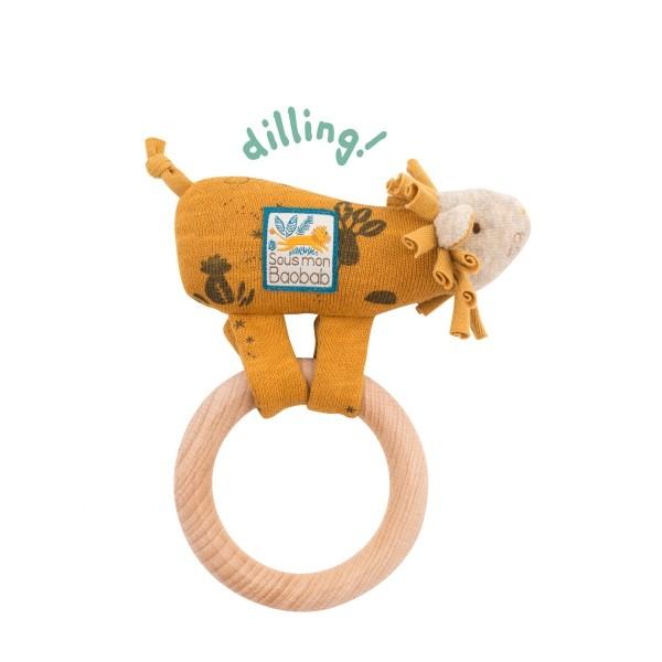 Ring-Rassel Löwe