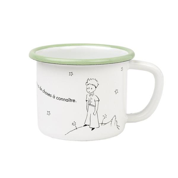 Emaille - Tasse Der kleine Prinz