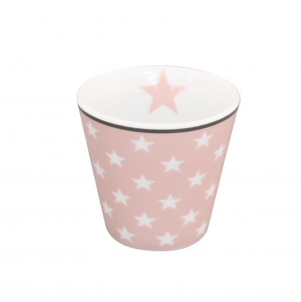 Krasilnikoff Espresso Tasse Stern pink