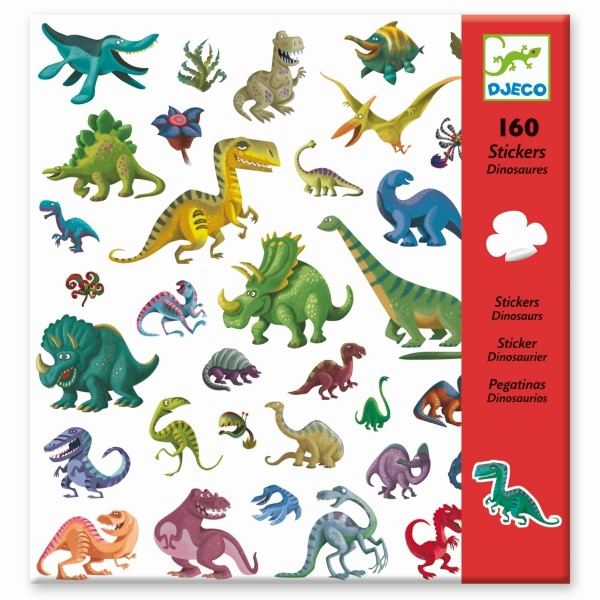 160 Sticker: Dinosaurier