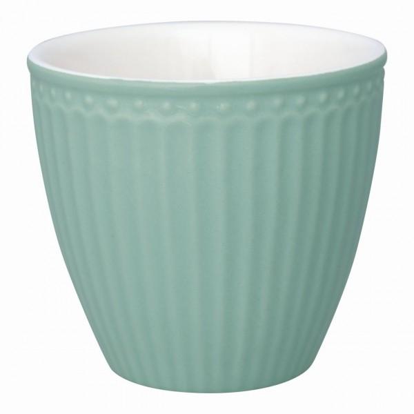 Latte Becher Alice dusty mint