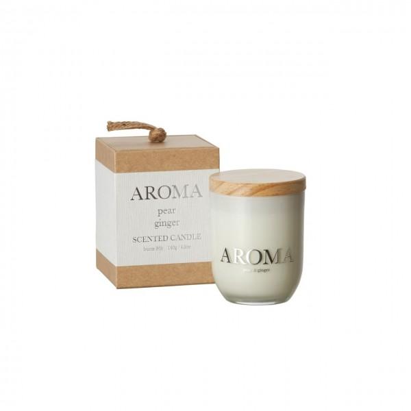 Kerze Aroma pear ginger S