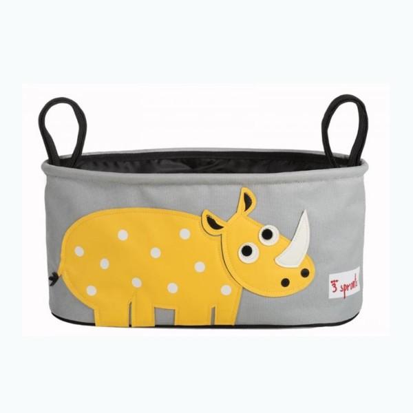 Kinderwagentasche Nashorn