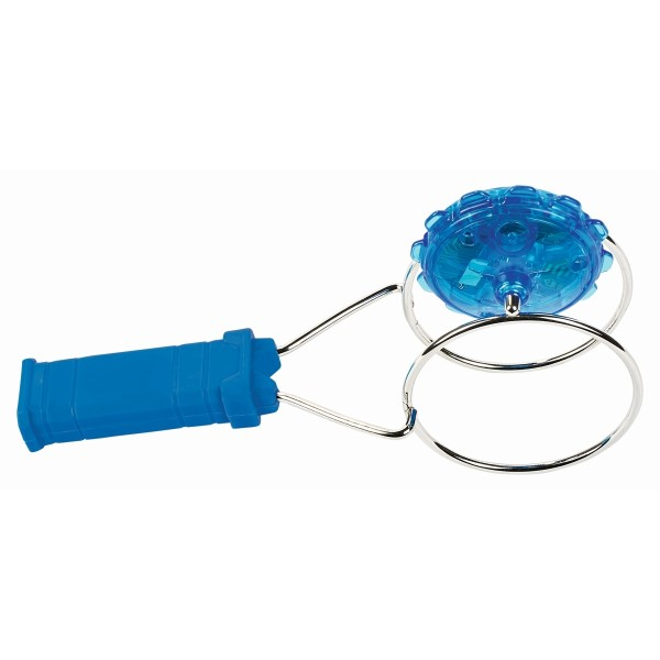 PhänoMINT LED-Magnetkreisel blau