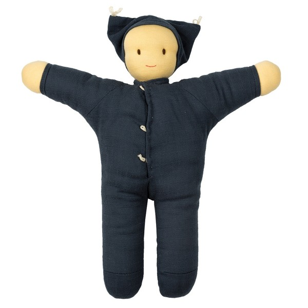 Puppe Matty blau