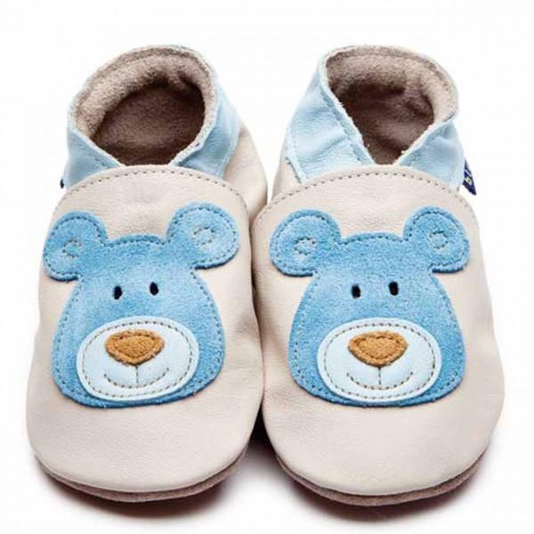 Inch Blue Toddler Bear Cream/Blue Medium