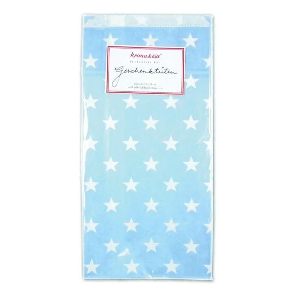 Geschenktüte Sterne Blau