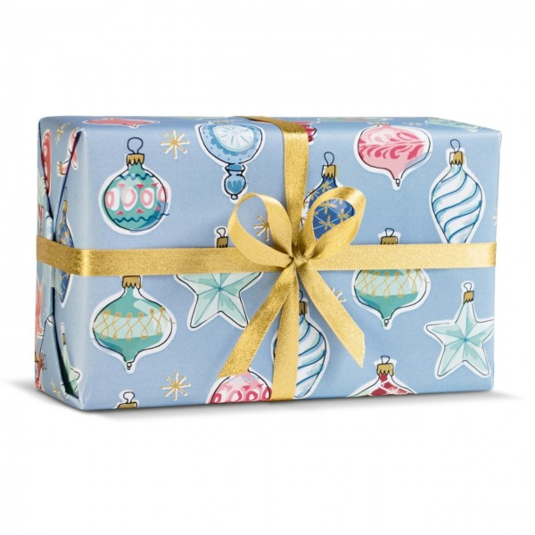Geschenkpapier Weihnachtsbaumkugeln