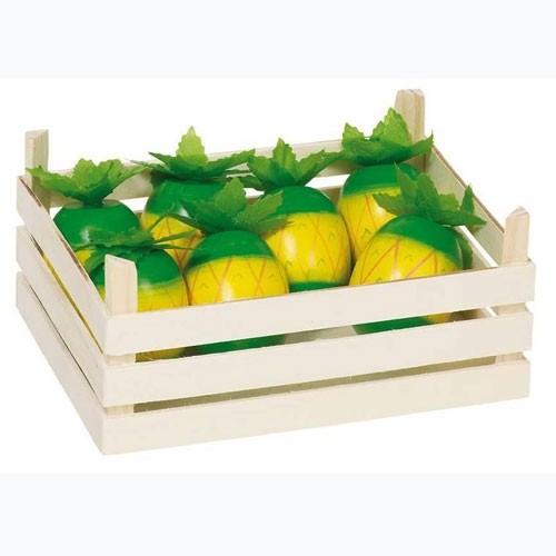 GOKI Kaufladen Holz Ananas