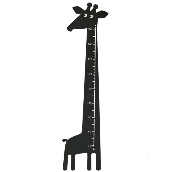 Messlatte Giraffe schwarz